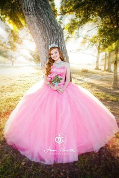db39be78d Beautiful Pink Quinceanera ヾ(^▽^)ノ Dresses 2015 Ball Gowns Tulle Crystal  Beaded Ruffles Vestidos (ツ)  ¯ De 15 Anos Sweet 16 Dresses Beautiful Pink  ...