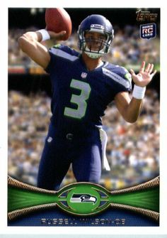 2012 Topps Football Card # 165 Russell Wilson RC - Seattle Seahawks (RC - Rookie Card) (NFL Trading Card) by Topps. $5.95. 2012 Topps Football Card # 165 Russell Wilson RC - Seattle Seahawks (RC - Rookie Card) (NFL Trading Card)