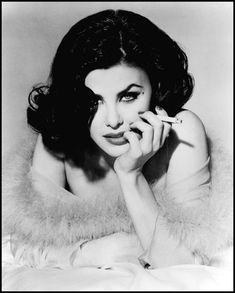Sherilynn Fenn. A brunette Marilyn, Twin Peaks bad girl, and former girlfriend…