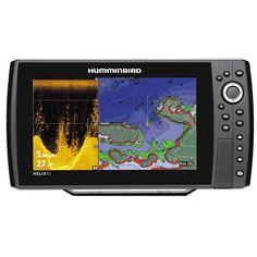 Humminbird Helix 10X CHIRP MEGA SI GPS G2N- side imaging fishfinder met netwerkaansluiting.