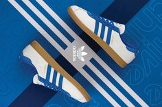 http://SneakersCartel.com size? Exclusive adidas Athen in White and Blue #sneakers #shoes #kicks #jordan #lebron #nba #nike #adidas #reebok #airjordan #sneakerhead #fashion #sneakerscartel