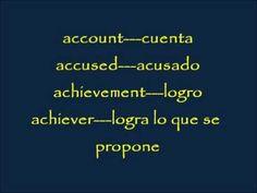 CLASES DE INGLES BASICO #20. VOCABULARIO - VOCABULARY - 1000 PALABRAS I...