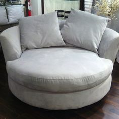 Cuddle Chair Iu0027ve always wanted this. & Living Room: Leather Swivel Chairs For Living Room Cuddle Chair ...