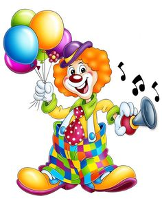 Cute Cartoon Clown Clip Art | 1000+ images about CLIP ART-CLOWNS on Pinterest | Clip art, Rubrics ...