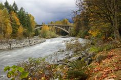 Capilano River in Fall, North Vancouver, BC, Canada   by Martin Grančič, via 500px