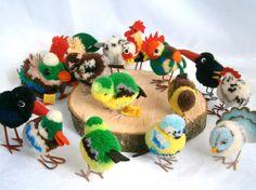 https://flic.kr/p/ccUfjs | Steiff Bird collection | the flock is growing