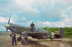 Crews a RAAF Mark 1 Mustang of number 16 Squadron for a Reconnaissance misson. Colored by RJM P51 Mustang, Fighter Jets, Aviation, Aircraft, Vehicles, Color, Number, Colour, Car