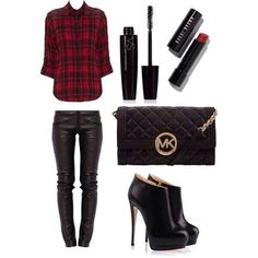 # Plaid outfit