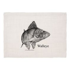 Walleye Dinner Placemats on CafePress.com