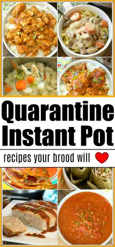 100 Days of Instant Pot Dinner Recipes! 100 Instant Pot dinner recipes your whole family will love, including the kids! Have chicken, beef or pork you need to use? We have pressure cooker ideas for you! Easy Instapot Recipes, Dinner Recipes Easy Quick, Instant Pot Dinner Recipes, Easy Healthy Recipes, Quick Easy Meals, Recipes Dinner, Vegan Recipes, Instant Pot Pressure Cooker, Pressure Cooker Recipes