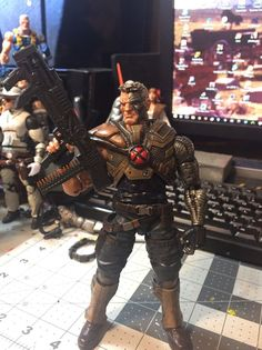 Marvel Legends Cable Custom   Toys & Hobbies, Action Figures, Comic Book Heroes   eBay!