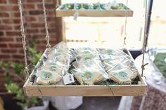 "Alice in Wonderland Inspired Wedding - Wonderland Inspired Teacup Cookies with ""Eat Me"" Tags RSVP: The RiverRoom Blog"