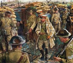 George V and World War One