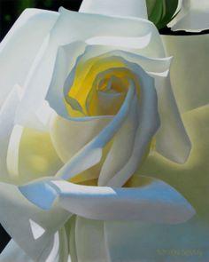 Flowers by artist Brian Davis Paintings