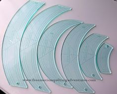 Rulers are pricey.   Once you've tried free motion quilting with rulers , you can quickly develop a desire to buy more and more rulers and t...