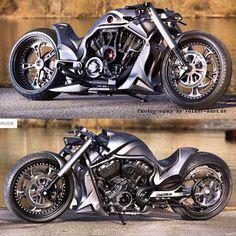 """Rate 1-10   via: @bullets.bikes.cars #vrod #custom #SportBikeAddicts"""