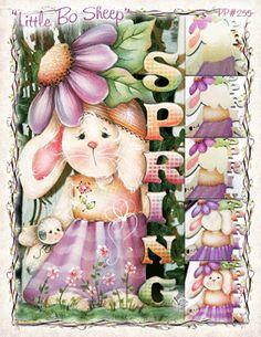 Spring Bunny Pattern~Between the Vines- Jamie Mills Price