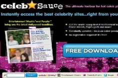 CelebSauce Toolbar is a redirect virus that redirects the webpage to some dubious domain.