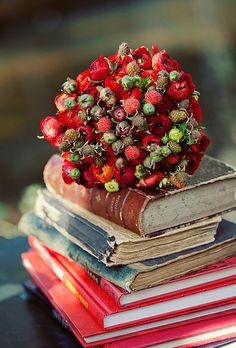 Raspberry bouquet!