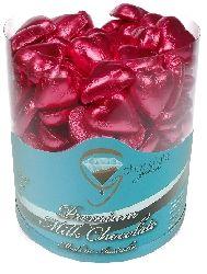 Hot Pink Chocolate Hearts Barrel (500g)
