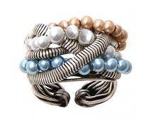 Konplott Chameleon Ring blau braun