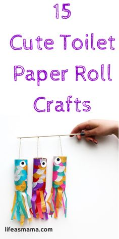 15 Cute Toilet Paper Roll Crafts 15 Cute Paper Roll Crafts Want fantastic ideas concerning arts and crafts? Head out to my amazing site! Craft Activities, Preschool Crafts, Fun Crafts, Arts And Crafts, Science Crafts, Nature Crafts, Baby Crafts, Wood Crafts, Projects For Kids