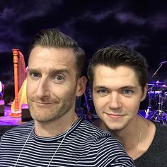 paulbyrom: All rehearsed and raring to go!!! #reunited #CelticThunder #MeAndMyShadow
