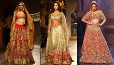 Complete Style Guide For Indian Brides To Wear A Golden Lehenga On Their Wedding Day