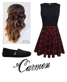 An outfit for Carmen (Anna Kendrick)