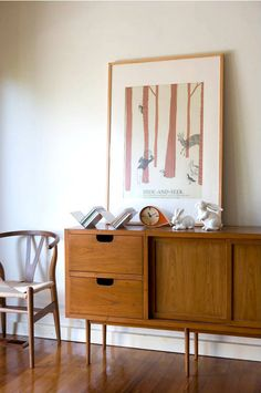I have a thing for sideboards. I'm waiting to find the perfect one for me...
