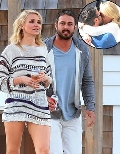 "Cameron Diaz and Taylor Kinney (aka Lady Gaga's boyfriend) for ""The Other Woman"""