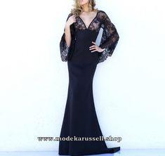 Elegantes Kleid Abendkleid Trudl in Schwarz