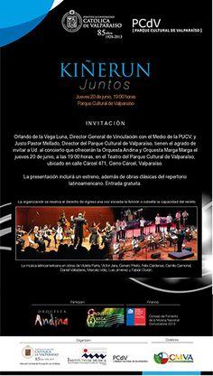 Concierto KIÑERUN  Orquesta Andina y Orquesta Marga Marga