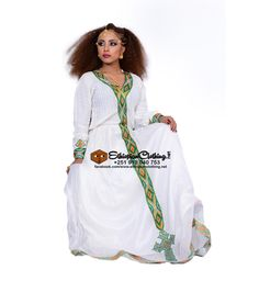 Ethiopian/Eritrean traditional dress