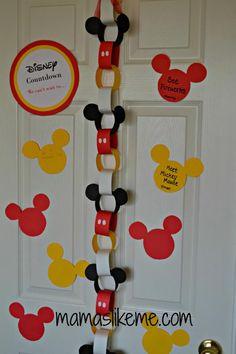 Mamas Like Me: Disney Countdown Ideas