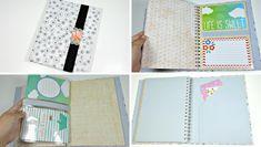 ¿Conocéis los Smash book? Se trata de un cuaderno estampado que podemos llenar de recuerdos. ¿Qué os parece si hacemos nuestra propia versión?