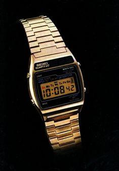 ebf5bde99f5 Seiko digital quartz alarm watch-1977 vintage Retro Watches