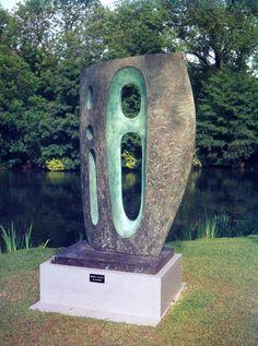 Barbara Hepworth  Sea Form (Atlantic), Bronze, 1964