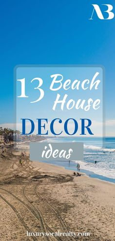 Beach House Decor//Beach House Decor Coastal Style//Beach House Decor DIY//Beach House Decor Modern//Beach House Decor Ikea//Beach House Decor California//Beach House Decor Living Room//Beach House Decor Kitchen//Beach House Decor Bedroom//Beach House Decor Bathroom// Are you planning to buy a beach house and remodel? Here are 13 beach house decorating ideas that are as fresh as a summer breeze by Joy Bender Luxury Real Estate Agent Compass San Diego REALTOR®