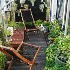 Deco experiments - Gardens/ Relaxation nooks