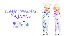 my sims 4 stuff — CHILDREN'S PLACE MONSTER PAJAMAS I really liked...