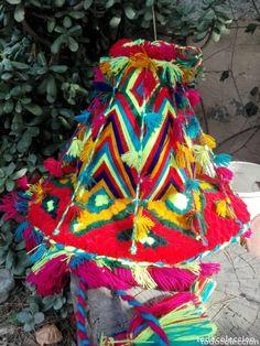 gorro sombrero tradicional de marruecos en lana - Comprar en todocoleccion - 173009259 Lana, Handmade, Carnival, Morocco, Pom Poms, Sombreros, Traditional, Caps Hats, Colors