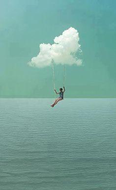 Vers la paix intérieure dans Chemin nuages