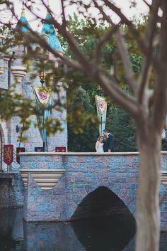 Sleeping Beauty Castle Wedding Photographer Disneyland