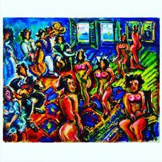 Sergio Telles Bordel - 80 x 100 cm OST - Ass. CIE e Dat. 2009 Reproduzida no catálogo da Exposição Individual realizada pelo artista   Errol Flynn  08 de outubro às 20:30 horas  www.iarremate.com  Sergio Telles Burdel - 80 x 100 cm OST - Ass CIE y Dat  #sergiotelles #art arte #oscarfreire #belohorizonte #galeria #gallery #homedecoration #leilao #auctions #subasta #fineart #errolflynn #belvedere #recoleta #palermo #buenosaires #lisboa #nyc #miami #saopaulo #iarremate #decor #arquitetura