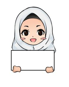 No photo description available. Ant Crafts, Teachers Day Card, Hijab Drawing, Doodle Girl, Islamic Cartoon, Anime Muslim, Hijab Cartoon, Female Character Design, Islamic Pictures
