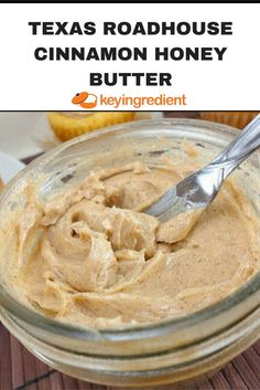 This copycat recipe for Texas Roadhouse Cinnamon Honey Butter is great spread for rolls bagels toast muffins sweet potatoes and more. The post appeared first on Daisy Dessert. Texas Roadhouse Cinnamon Honey Butter Recipe, Honey And Cinnamon, Texas Roadhouse Butter, Texas Roadhouse Rolls, Texas Roadhouse Sweet Potato Recipe, Texas Roadhouse Steak Seasoning, Texas Roadhouse Recipes, Cinnamon Bread, Flavored Butter