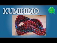Kumihimo con cuentas. Tutorial curso completo Kumihimo en español. - YouTube