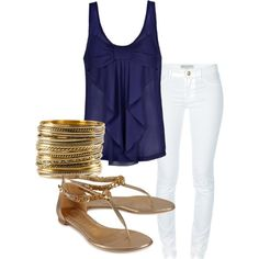 """""""Summer Night Out"""" by ckerr15 on Polyvore"""