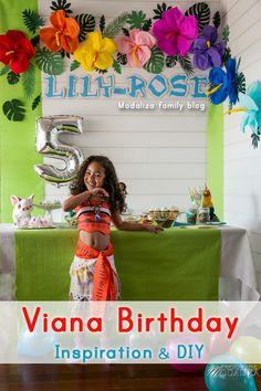 Anniversaire vaiana deco animation jeux gateau inspiration sur le blog - Vaiana birthday game diy cake... Real princesse Vaiana Moana la vraie <3